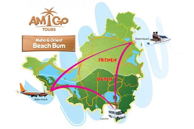 Maho + Orient Beach Bum Itinerary