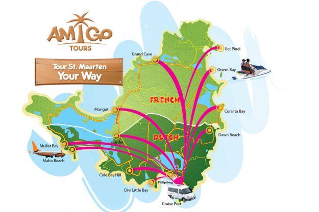 Tour St. Maarten Your Way